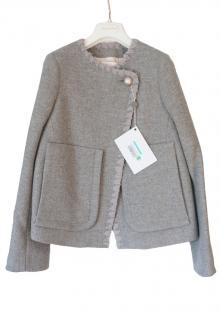 See by Chloe grey wool jacket