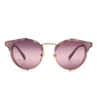 Valentino Purple Tint Sunglasses