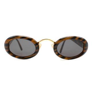 Christian Dior Vintage Oval Sunglasses
