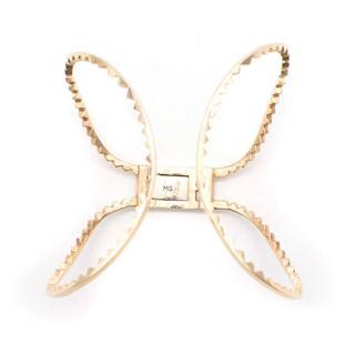 Maison Stanley 14k Gold Shark Bite Bracelet as worn by Charlize Theron