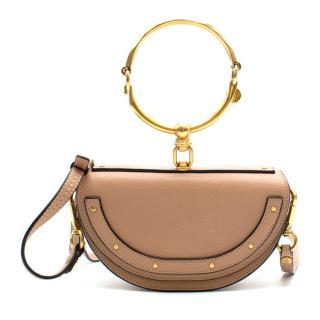 Chloe Small Nile Minaudiere Calfskin Shoulder Bag
