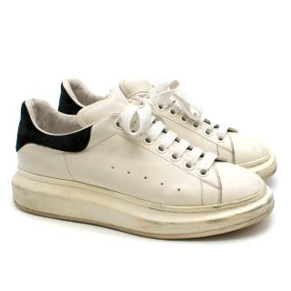 Alexander McQueen Black & White Oversized Sneakers