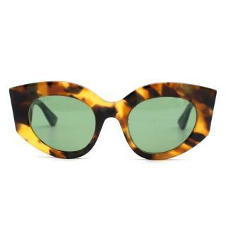 Gucci GG0275S Havana Sunglasses