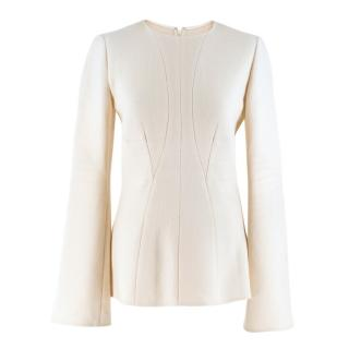 Stella McCartney Wool Paneled Top