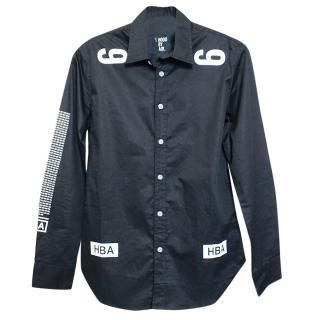 Hood By Air Long-Sleeved black Shirt