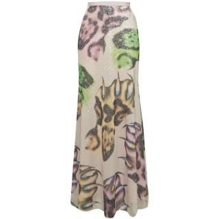 Giles Sequin Embellished Maxi Skirt