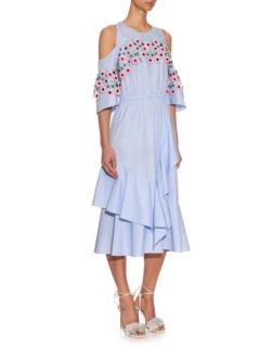 Peter Pilotto Sky Blue Midi Dress
