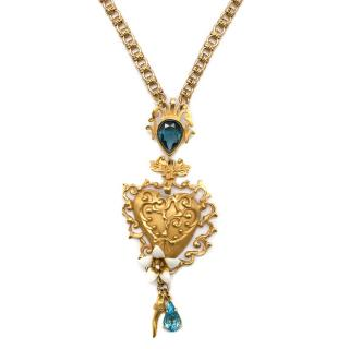Dolce & Gabbana Ornate Pendant Necklace
