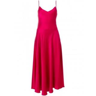 Stella McCartney Pink Silk Spaghetti Strap Dress