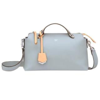 Fendi By the Way light-blue leather bag