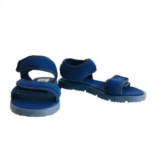 Dolce & Gabbana children's blue sandals