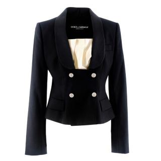 Dolce & Gabbana Detachable-Bib Blazer