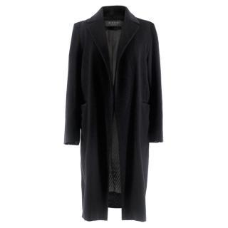 Marni Black Long Wool Coat