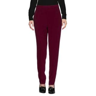 Maison Martin Margiela burgundy trousers