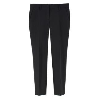 Prada Black Slim Fit Trousers