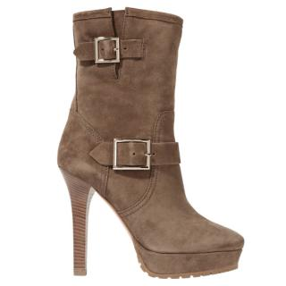 Jimmy Choo Suede Dylan boots