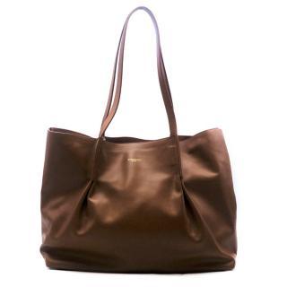 2aa2c7a2671 Nina Ricci Brown Ondine Tote Bag