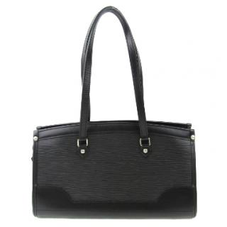 Louis Vuitton Epi black leather handbag