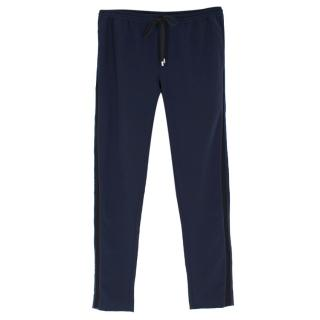 Dion Lee Navy Joggers
