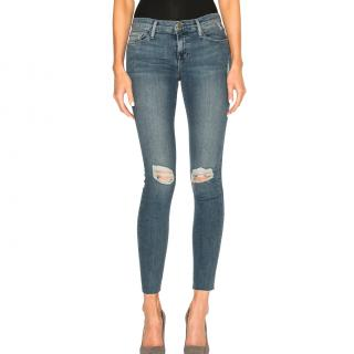 Frame Denim Le Skinny de Jeanne Jackwood jeans