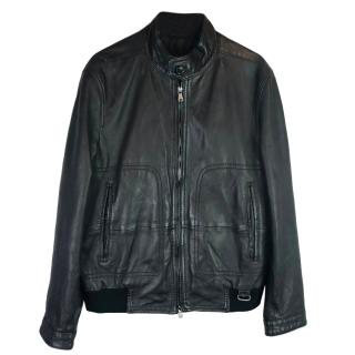 Hugo Boss Nikon Leather Biker Jacket