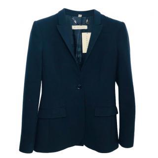 Burberry Navy Blue Blazer