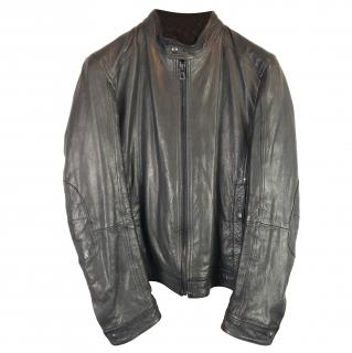 Hugo Boss Jerris Cafe Racer Biker Jacket