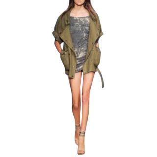 Isabel Marant Ulysse over linen jacket