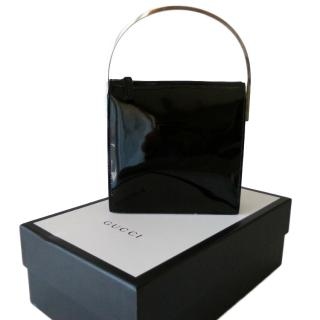 GUCCI  Bag in black patent leather