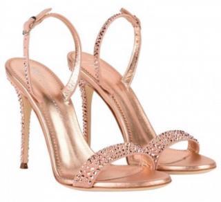 Guizeppe Zanotti swarowski ricamo sophia sandals