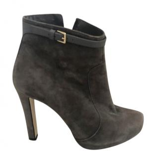 MaxMara suede ankle boots