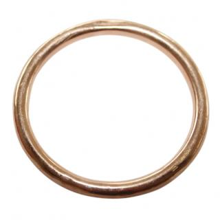 Vintage 9ct Rose Gold Slave Bangle