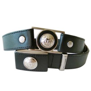 Gianni Versace vintage leather belt