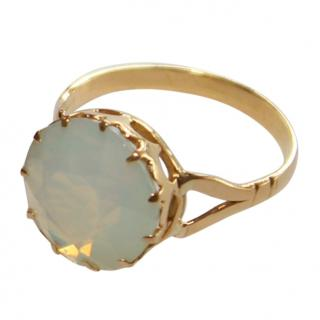 Bespoke 18ct Gold Opal Paste Dress Ring