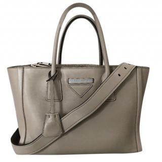 Prada Concept Grace Lux Pomice Grey Tote Bag