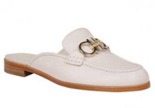Salvatore Ferragamo Viggio Jasmine Backless Loafers