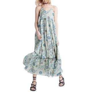Zadig & Voltaire flower print maxi dress