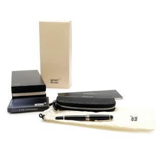 Montblanc Meisterst�ck Mozart Hommage Fountain Pen W/ Leather Pouch