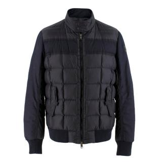 Moncler Men's Navy Puffer Coat - AW18