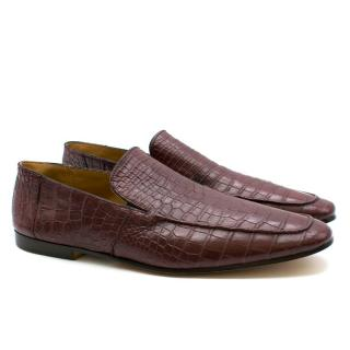 Zilli Crocodile Leather Loafers