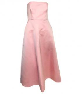 Rochas Baby Pink Cocktail Dress