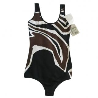 Emilio Pucci abstract-knit bodysuit