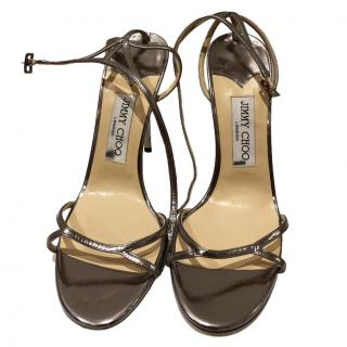 JIMMY Choo Silver Mini sandals