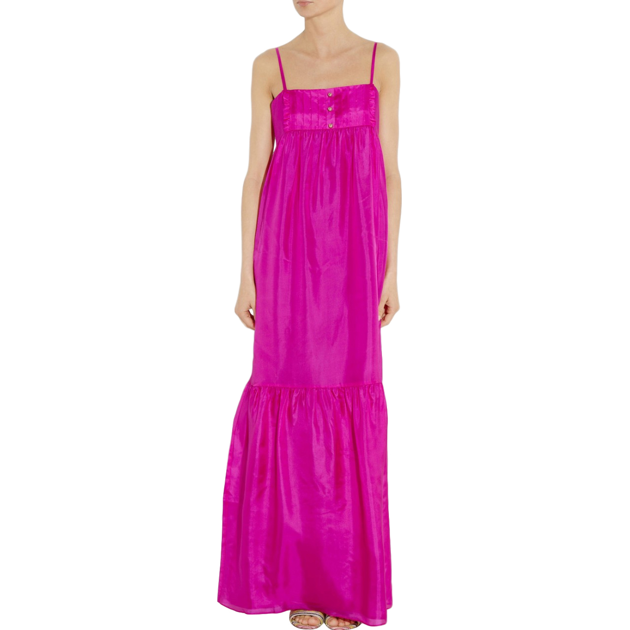 Alice by Temperley Lavender Maxi Silk Dress