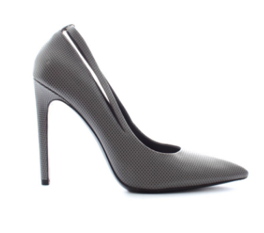 Alexander Wang Embossed-Leather Point-Toe Pumps