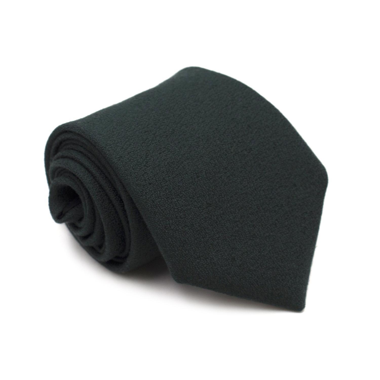 Charvet Place Vendome Dark Green Tie
