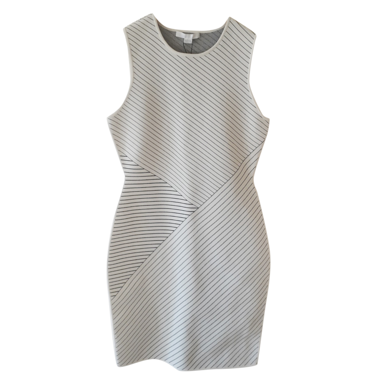 Alexander Wang Fitted Printed Mini Dress