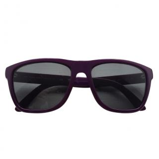 Burberry convertible purple sunglasses