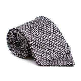 Perry Ellis Portfolio Grey Silk Tie