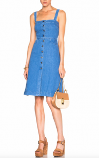 Stella McCartney Blue Linda Denim Dress